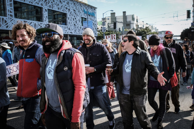 Earnest Kicks Off Annual Day of Service at San Francisco MLK Day Parade photo 1