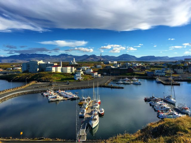 Stykkisholmur, Iceland; photo credit: Kassondra Cloos.