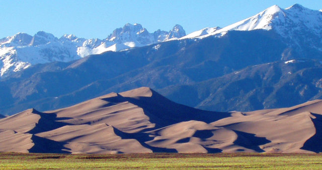 Great Sand Dunes National Park; photo credit: National Park Service.