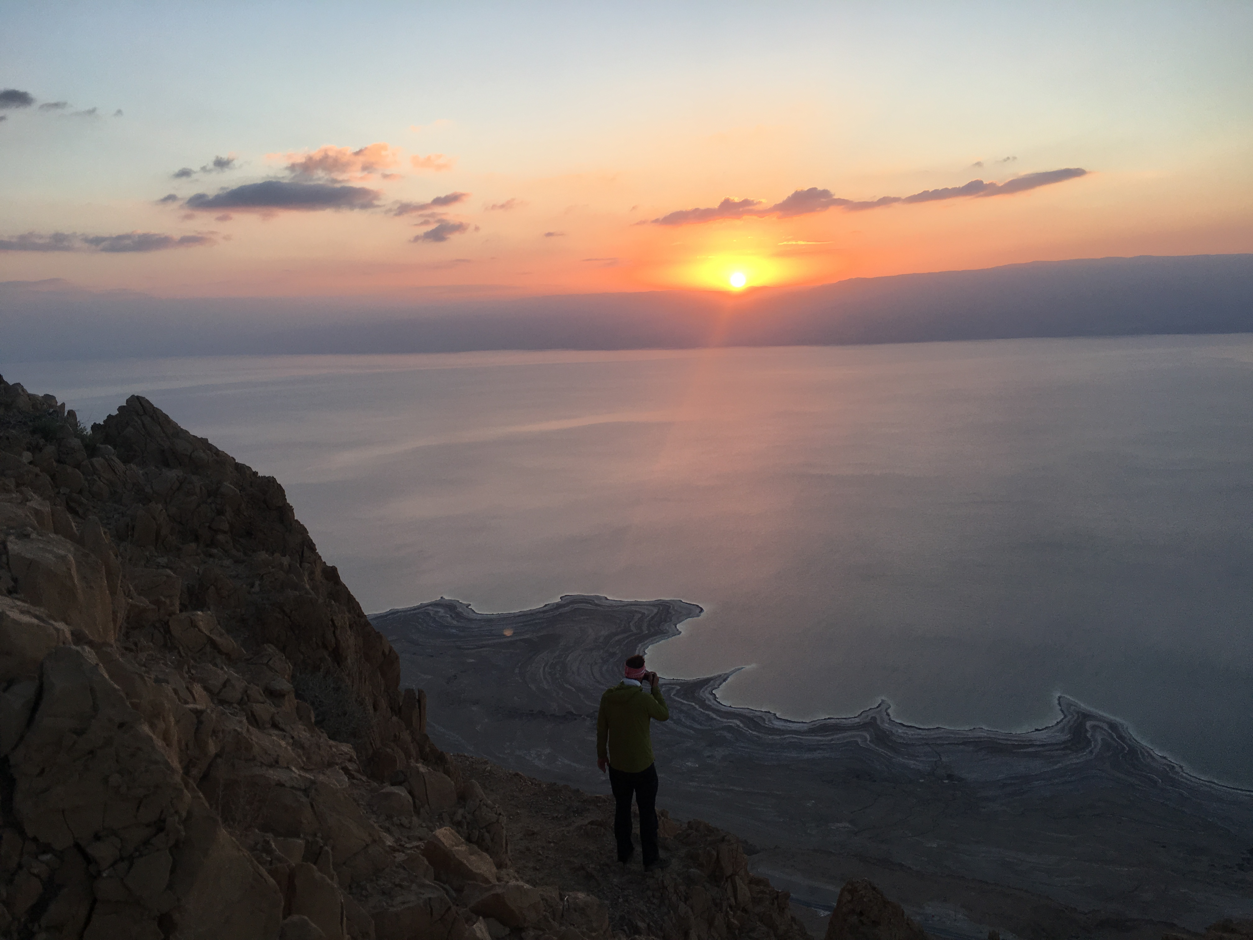 Dead Sea Sunrise photo