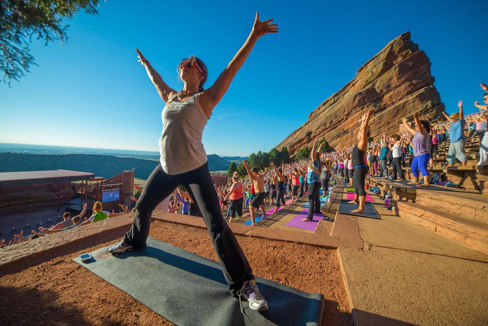 Yoga on the Rocks photo